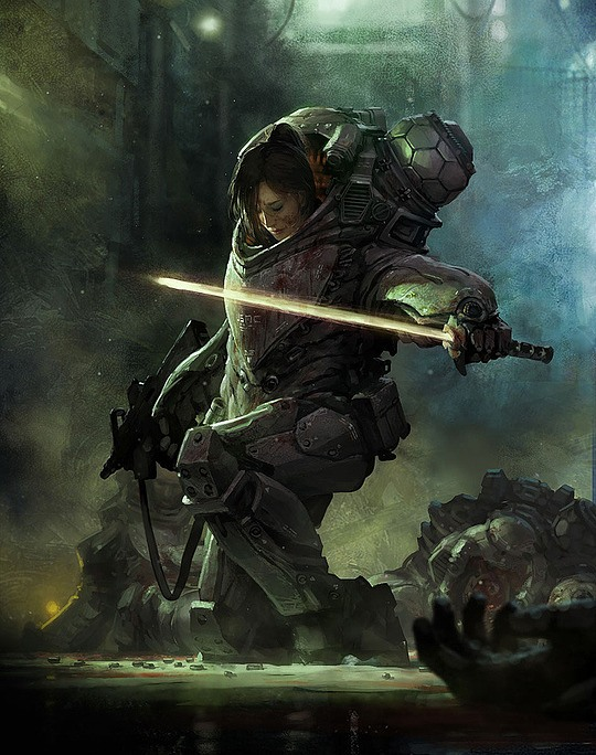 Stunning Concept Illustrations by Marek Okon
