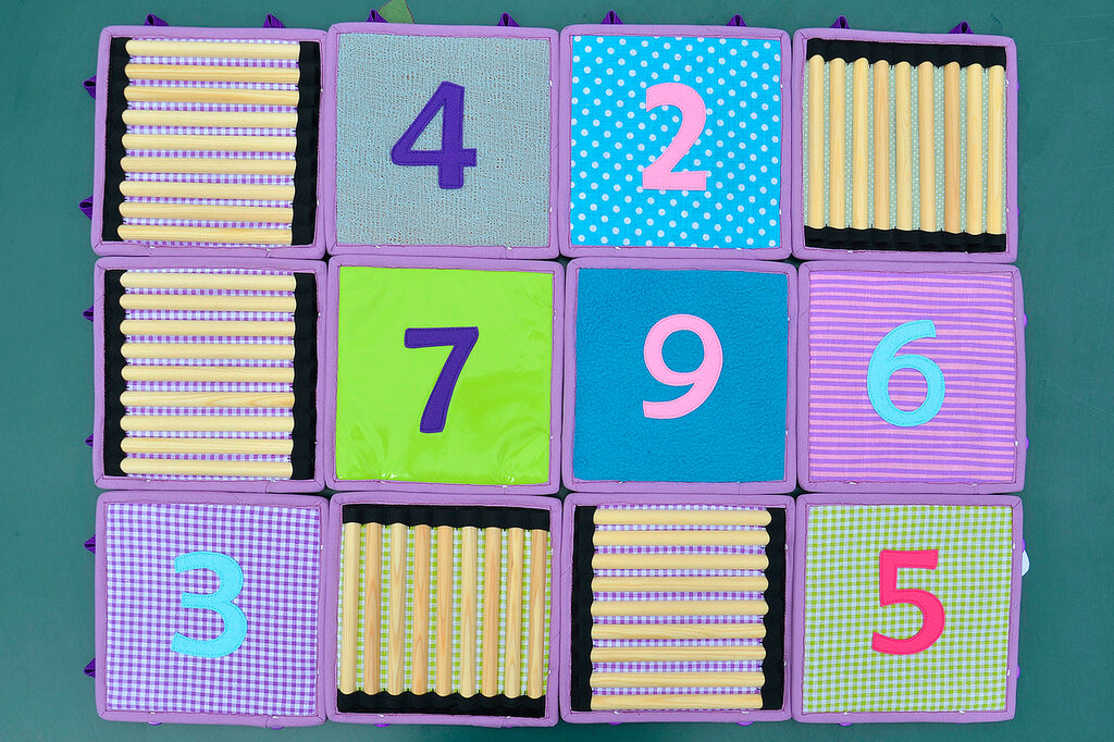 кубики покрывало подушка комплект в детскую салатовый сиреневый (11).JPG