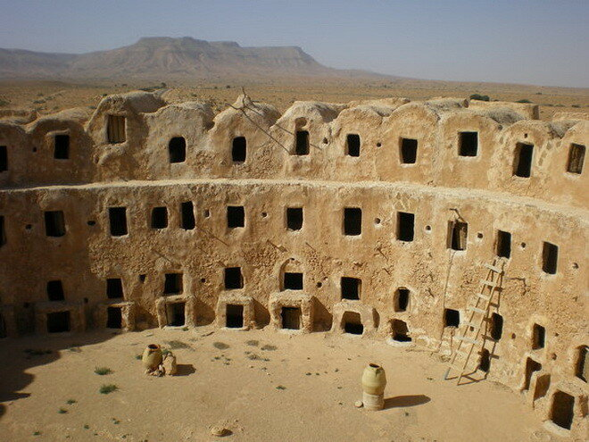 Зернохранилище Каср аль-Хадж. Ливия