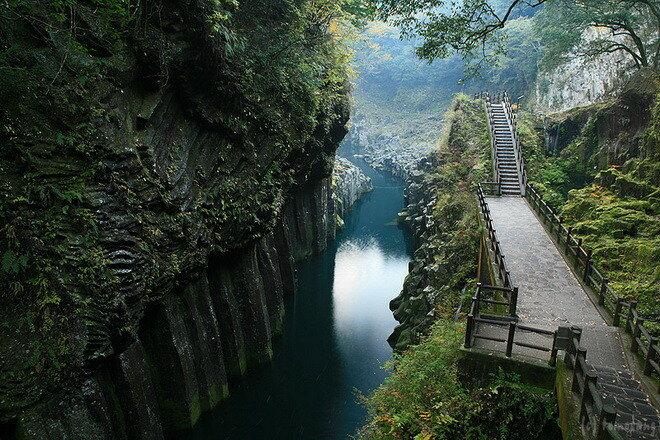 Ущелье Такачихо. Япония