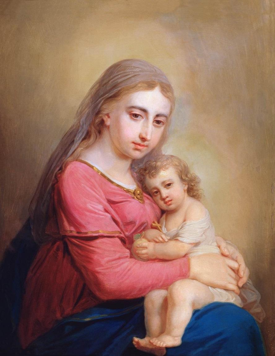 Богоматерь с младенцем Государственная Третьяковская галерея, Москва