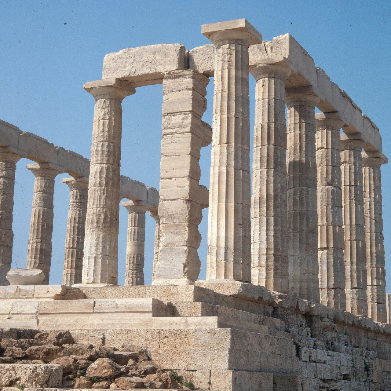Храм Посейдона. Фундамент храма