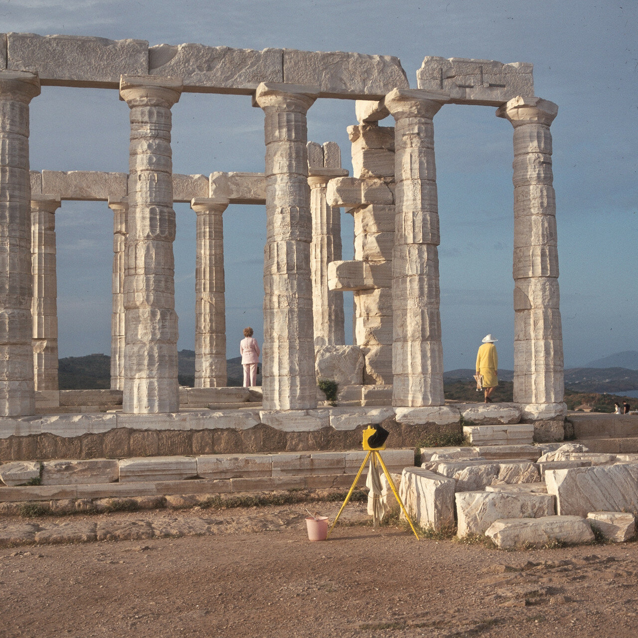 Храм Посейдона. Южная длинная сторона