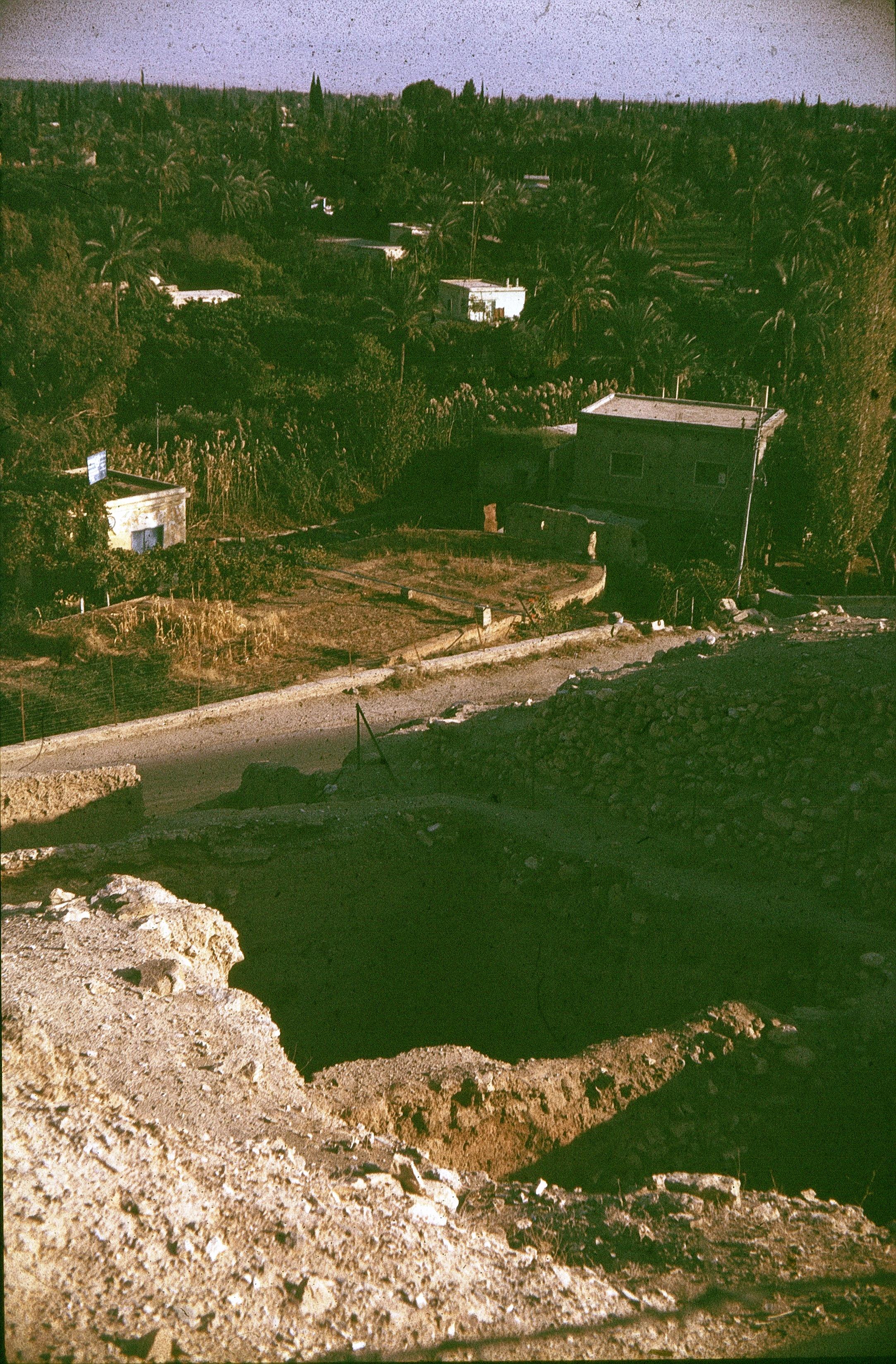 Иерихон. Развалины древнего города
