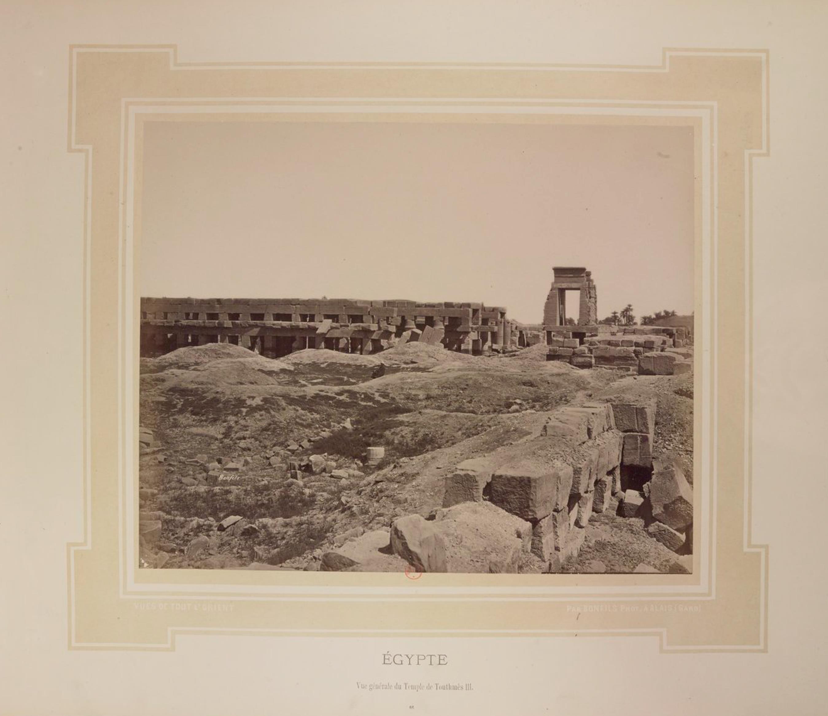Карнак. Храм Тутмоса III