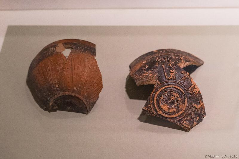 Рельефные чаши. Эфес, Кимы. II н.э. Поселение Голубицкая 2.