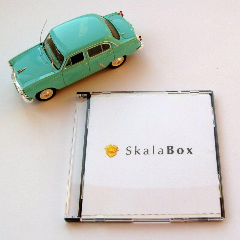 SkalaBox mini DVD