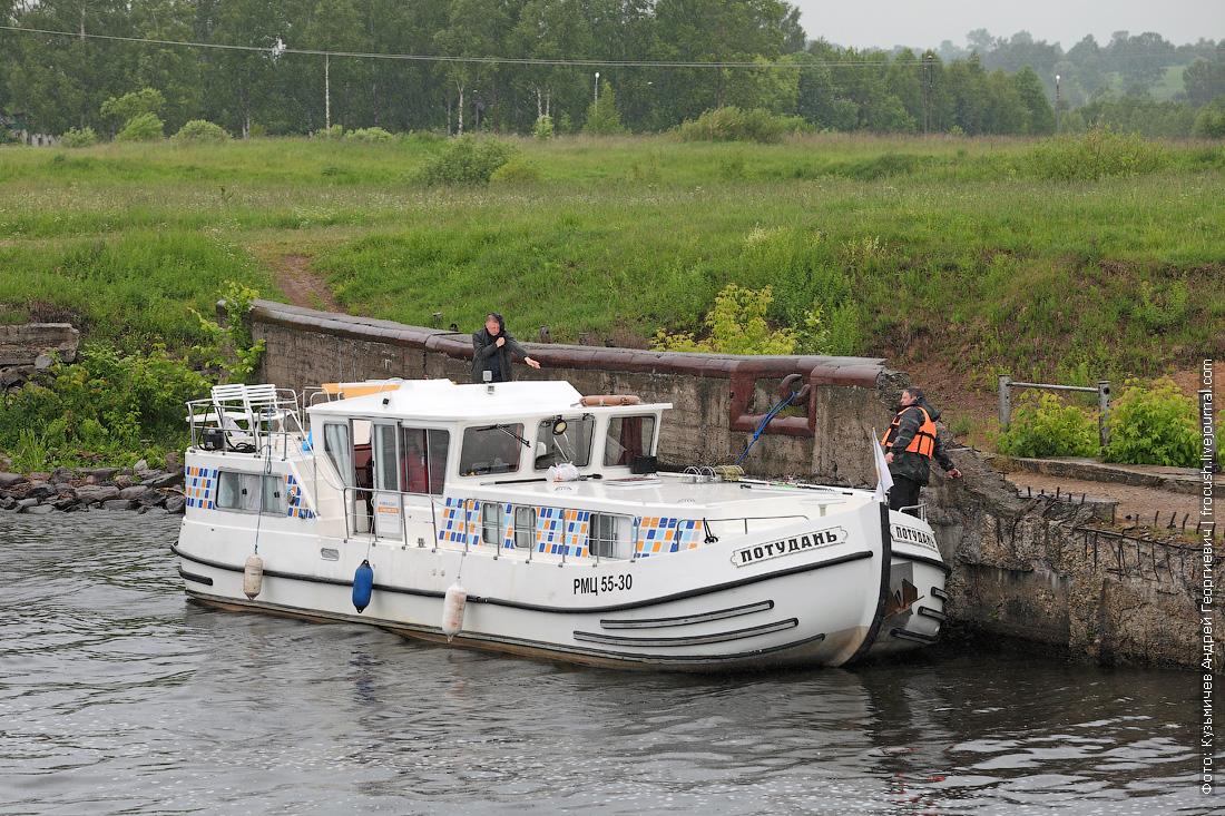 Моторная яхта Потудань