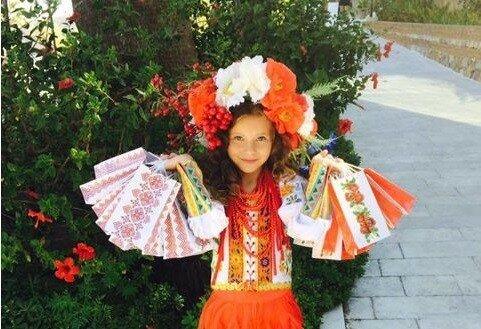 Маленькая украинка победила на всемирном конкурсе красоты