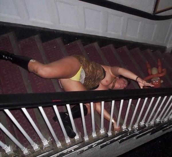 Пьяная Толстуха Пися Фото