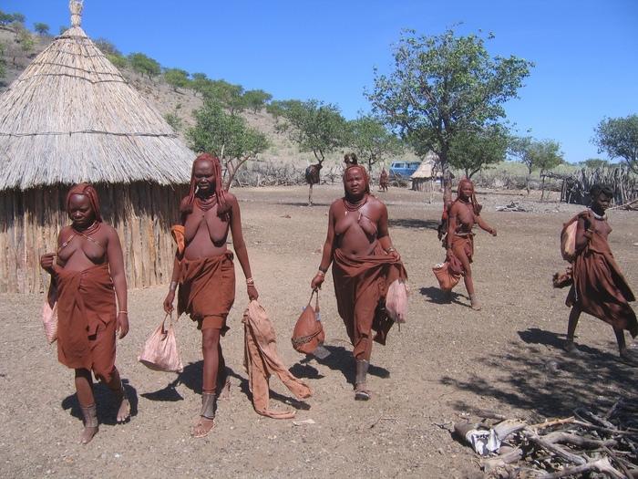 himba clan of namibia