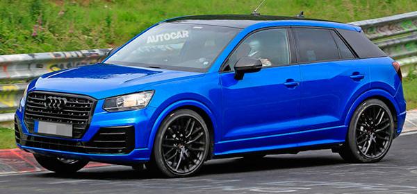 Мини кроссовер Audi станет спортивным