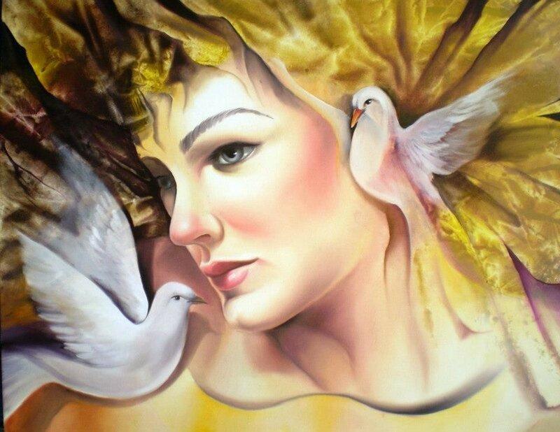 Бразильский художник Alberto Carlos Queiroz