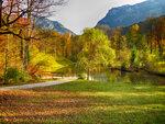 Парк дворца Линдерхоф