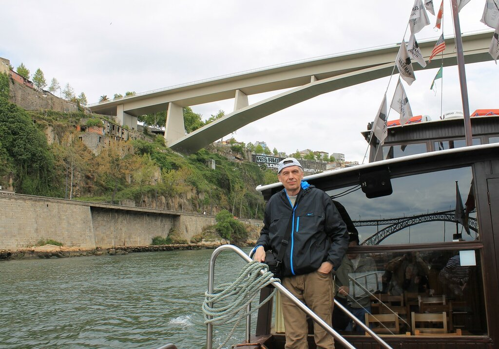 Порту. На лодке рабелуш по реке Дору