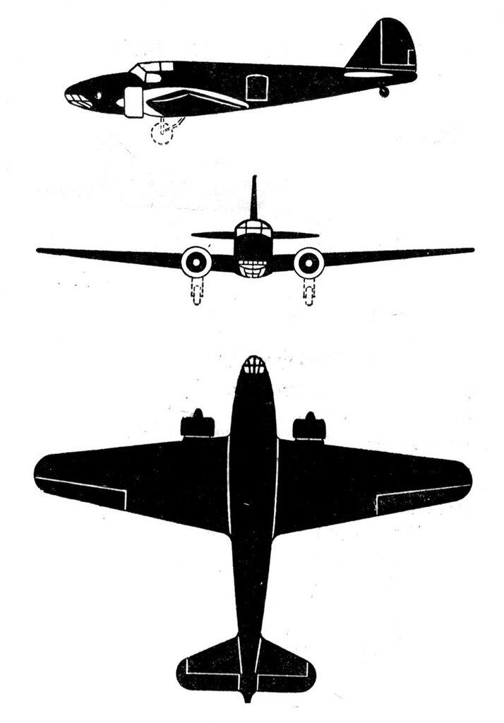 Силуэты итальянских самолетов (1939) 047