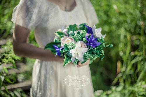 Букет невесты в BOHO-стиле