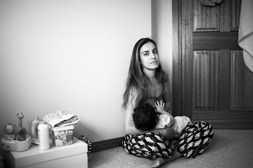Непостановочная красота материнства