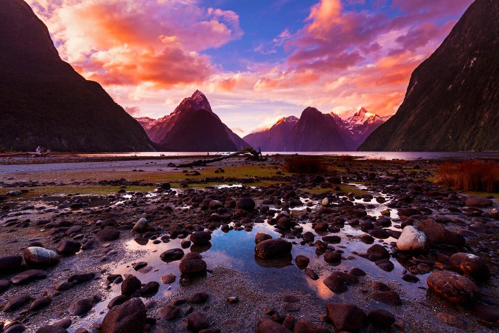3. Крутые скалы, достигающие высоты 130 метров. Тут обитают пингвины. (Фото Mark Macewen):