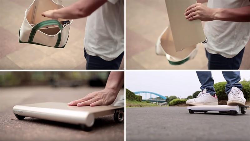 Транспортное средство, которое поместится в твою сумку для ноутбука (5 фото)