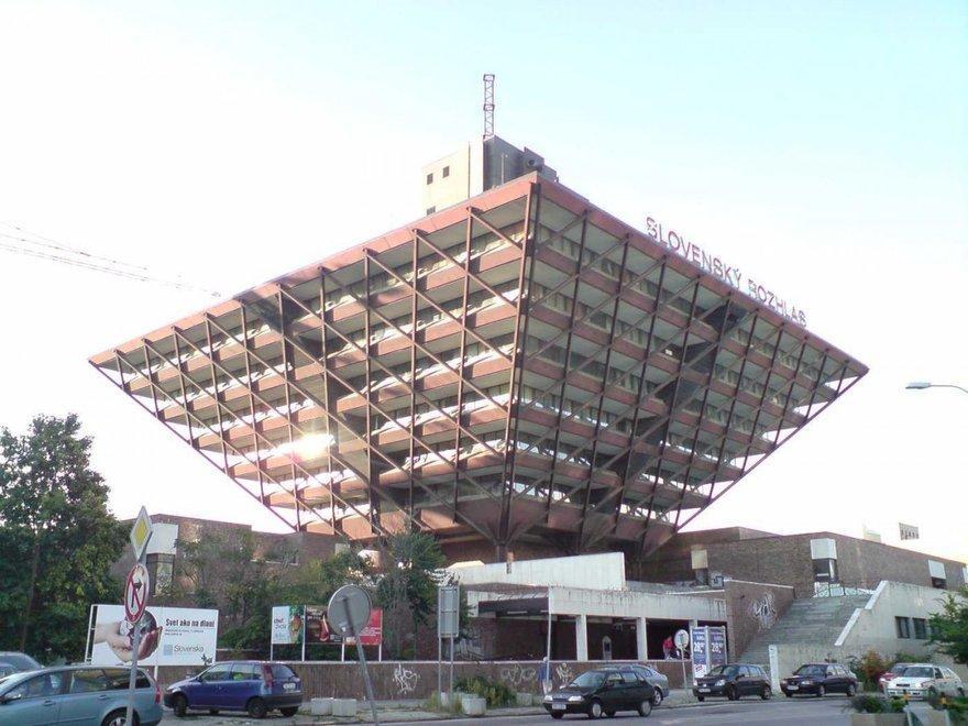 9. Здание работников радиослужбы (Словакия)