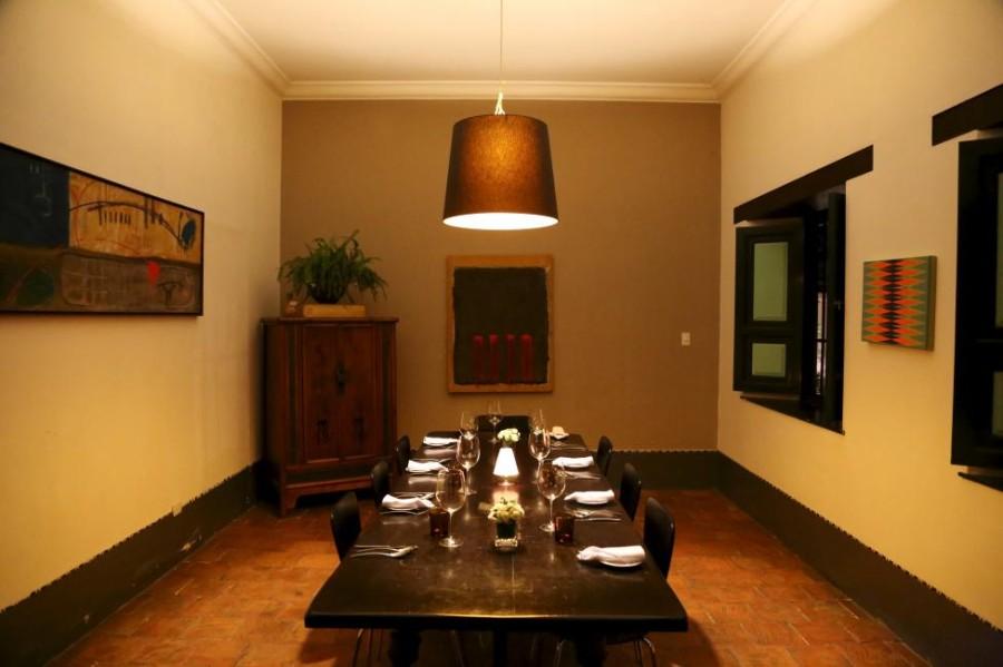 15. Обеденная зона ресторана «La Isabela», расположенного в доме ресторатора Эдуардо Морено, в Карак