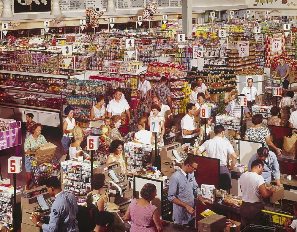 Бренхэм, штат Техас, 1962 год.