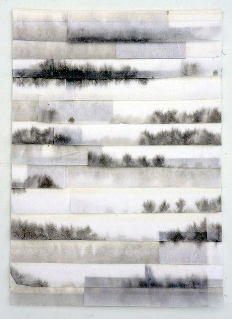 Brooks Shane Salzwedel. Работы, созданные с помощью карандашей, маркера и кальки.