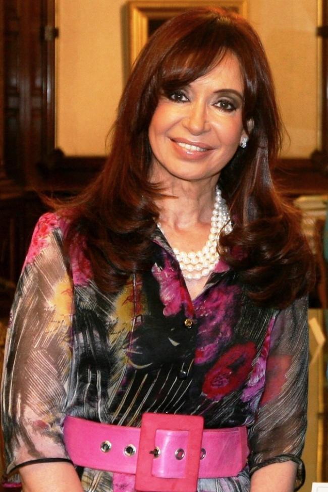 © eastnews  Кристина Элизабет Фернандес деКиршнер— президент Аргентины с10декабря 2007-го