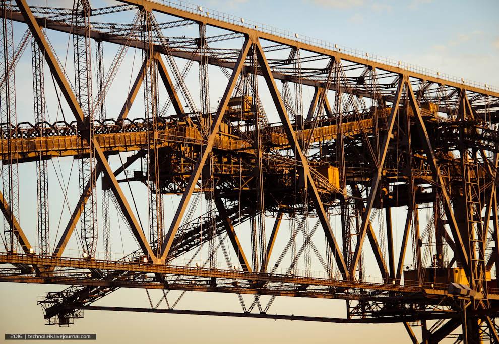 4. Транспортно-отвальный мост F60 не единственный в своем роде — в период с 1969 по 1991 годы п
