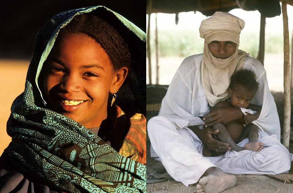 Туареги более 1000 лет кочевали по Сахаре, перегоняя верблюдов на новые пастбища.