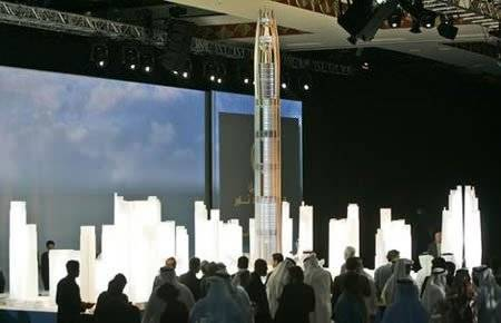Новая башня в Эмиратах