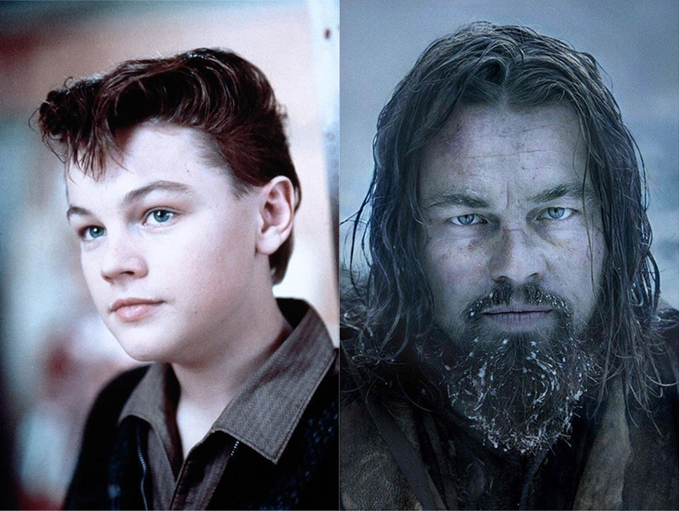 Леонардо Ди Каприо: «Жизнь этого парня» (1993) и «Выживший» (2015).