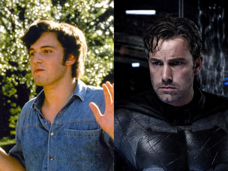 Бен Аффлек: «Под кайфом и в смятении» (1993) и «Бэтмен против Супермена: На заре справедливости» (20