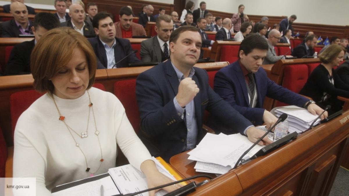 Киевские народные избранники утвердили бюджет столицы на последующий год
