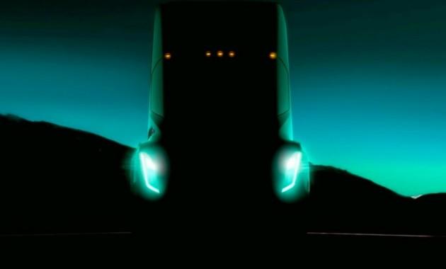 Tesla показала первый тизер своего грузовика