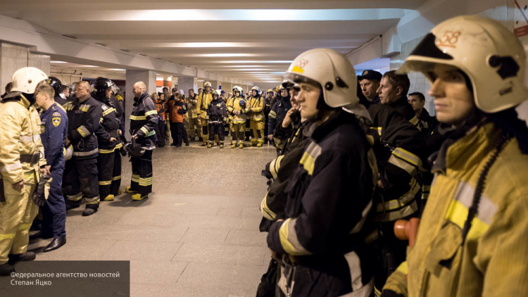 Пожарные устранили возгорание вадминистративном помещении наНовом Арбате