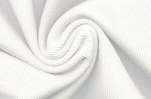 Кашкорсе с лайкрой, цв. Белый, ПЕНЬЕ, Ширина 45*2 , пачка,пл 210, Цена 380р
