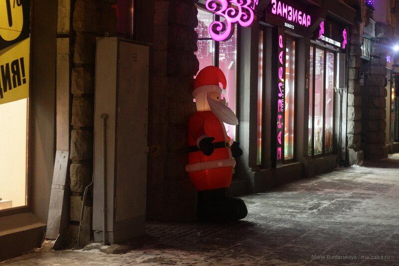 Новогодний Саратов, проспект Кирова, 16 декабря 2016 года