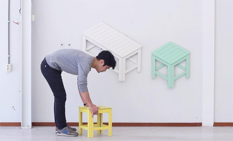 From 2D to 3D - These clever furniture transform into optical illusion