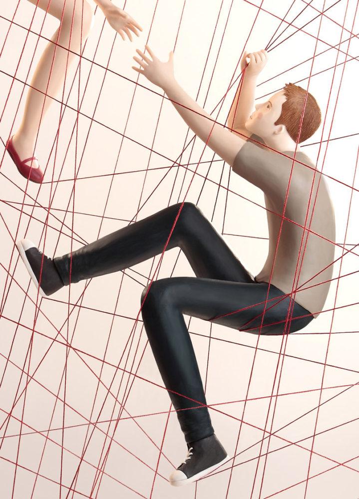 Handcrafted Plasticine Artworks by Irma Gruenholz