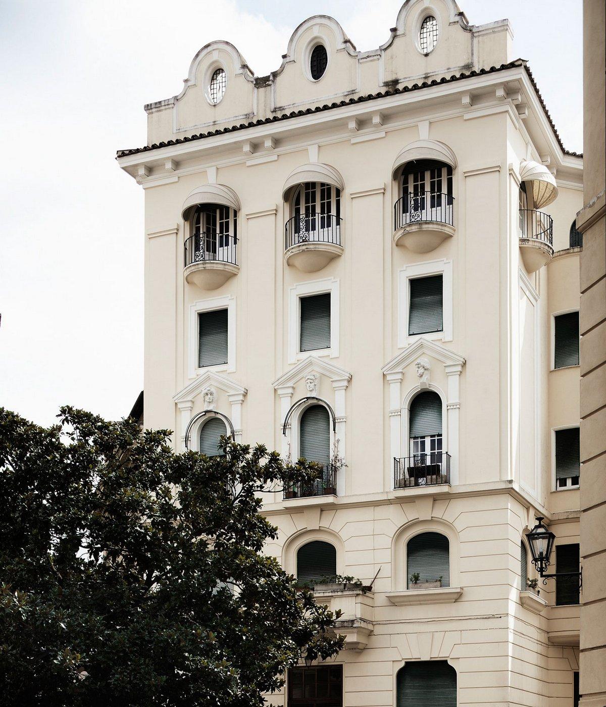 Современные апартаменты для молодой пары в Риме