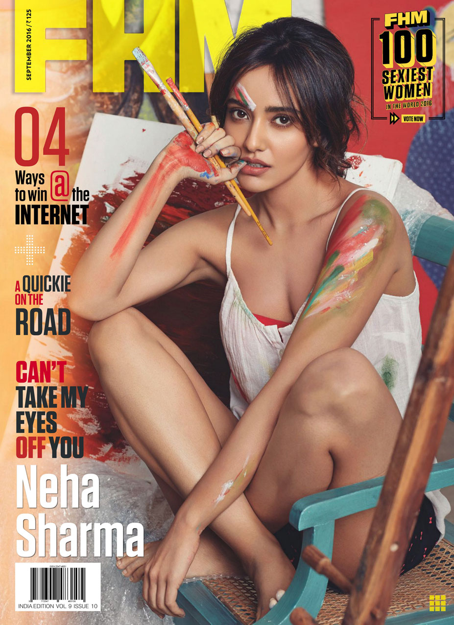 индийская модель и актриса Неха Шарма / Neha Sharma by Taras Taraporvala - FHM India september 2016