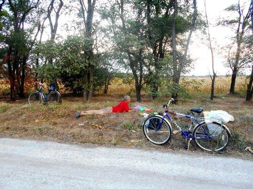 Гонка велосипедно-туристическая в Каневскую, и на Ахтари... 2016-08-31
