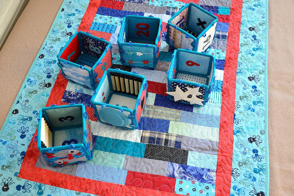 морские кубики текстильный набор покрывало торба (14).JPG