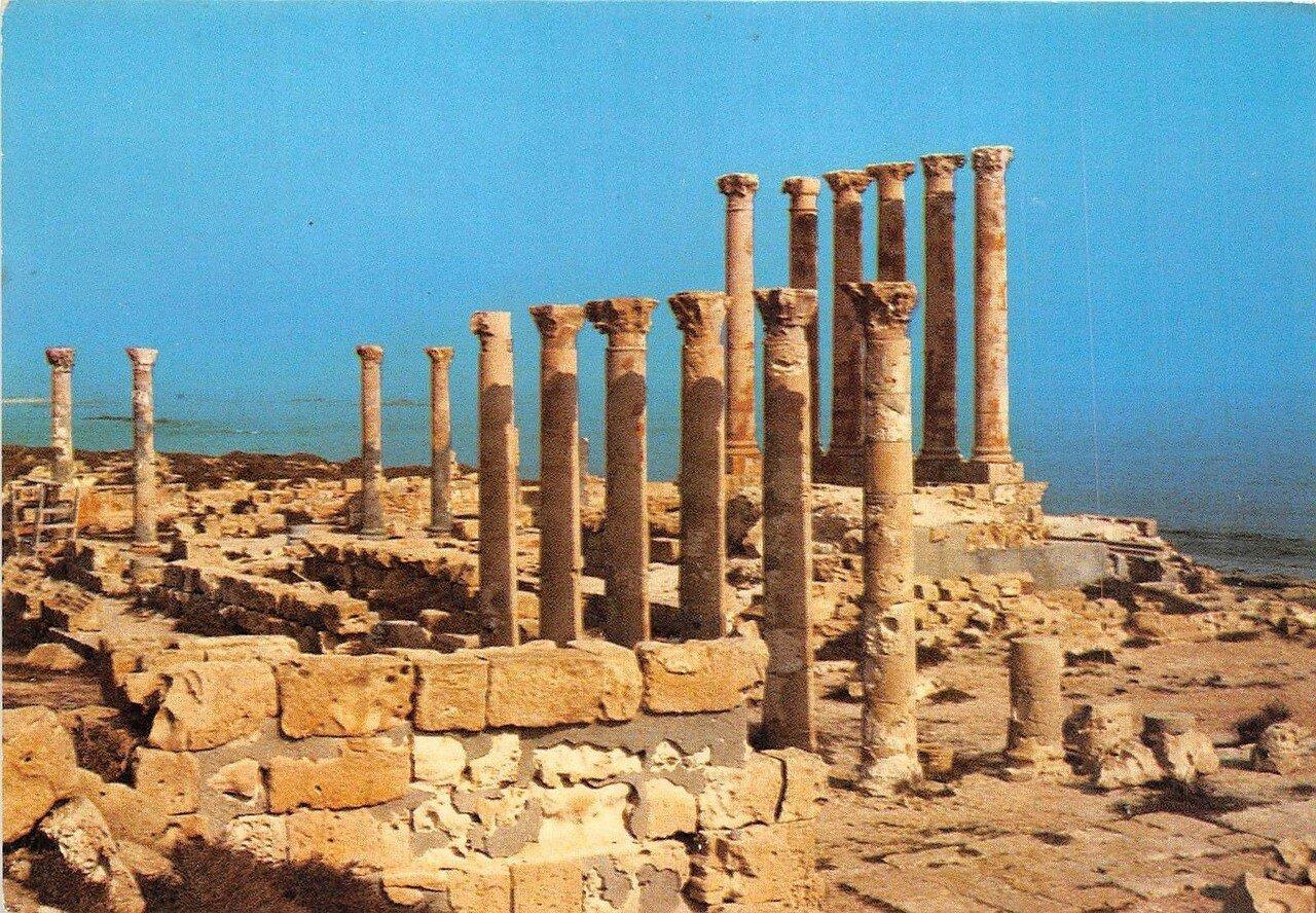 Сабрата. Храм Исиды
