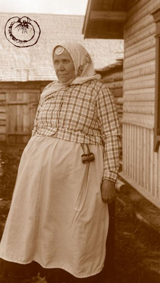 Лемболово. Эвремейсская женщина Мари Миккулайнен