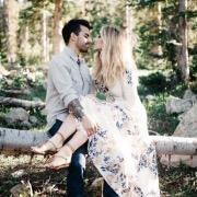 Влюбленные в лесу