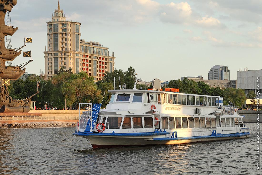 теплоход Москва-64