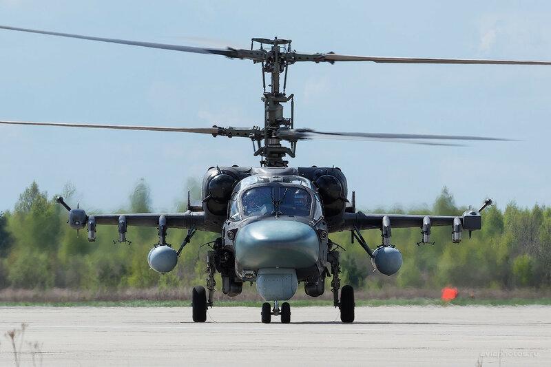 Камов Ка-52 ВКС России D803339